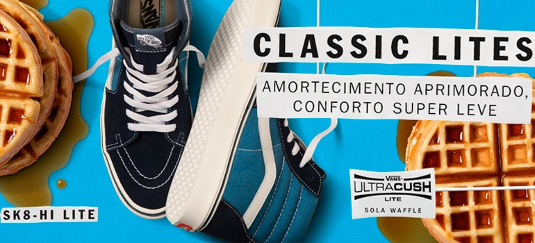 Tênis Vans Classics Lites