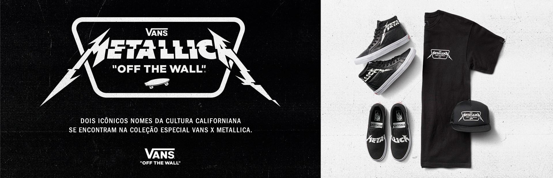 Vans Metallica