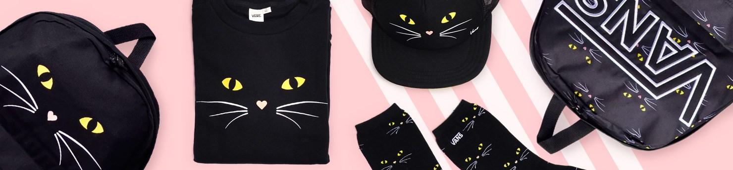 Vans Black Cat