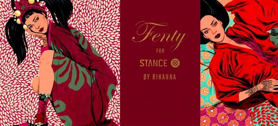 Meias Stance Rihanna