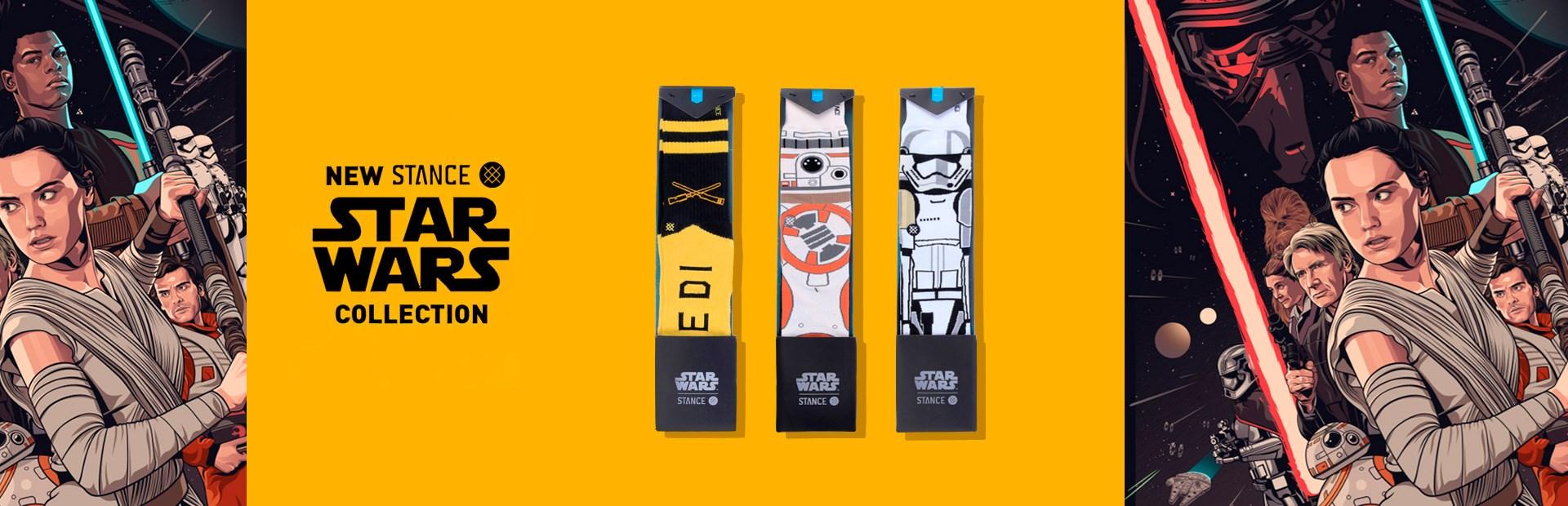 Meia Stance x Star Wars