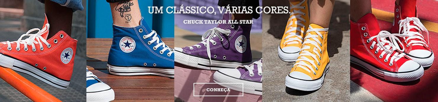 Tênis Converse All Star Coleção Colors