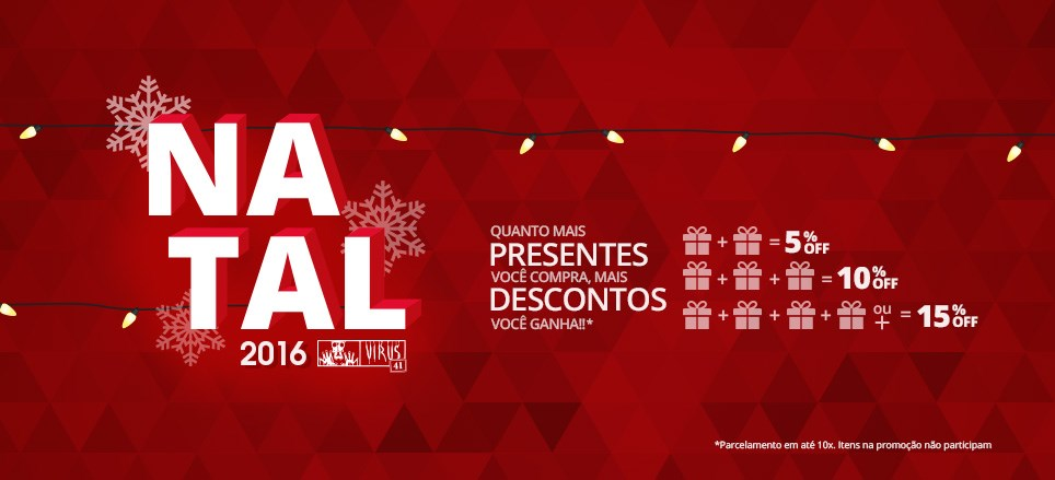Promo Natal 2016