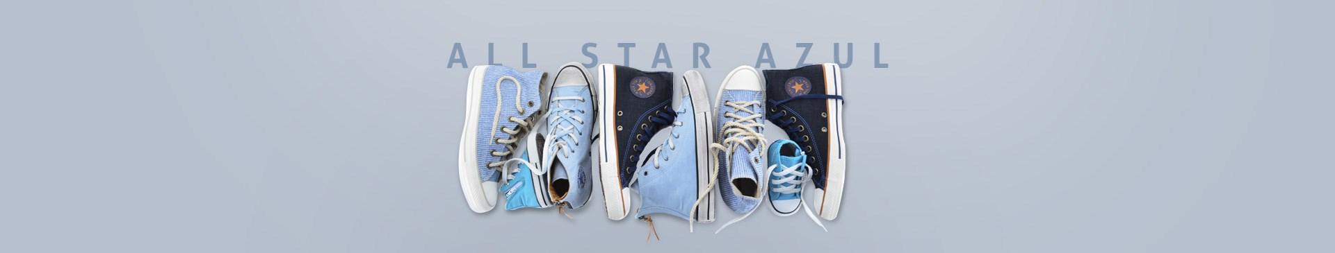 Tenis Converse All Star Azul