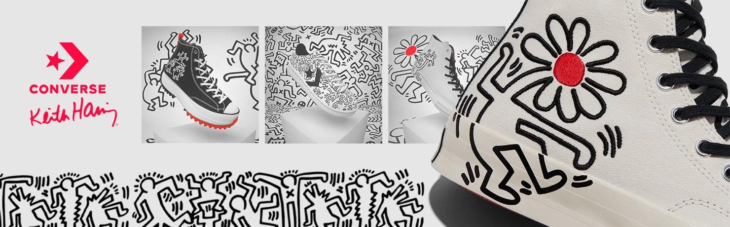 Converse Keith Haring Tênis Coleção All Star Importado Lv41