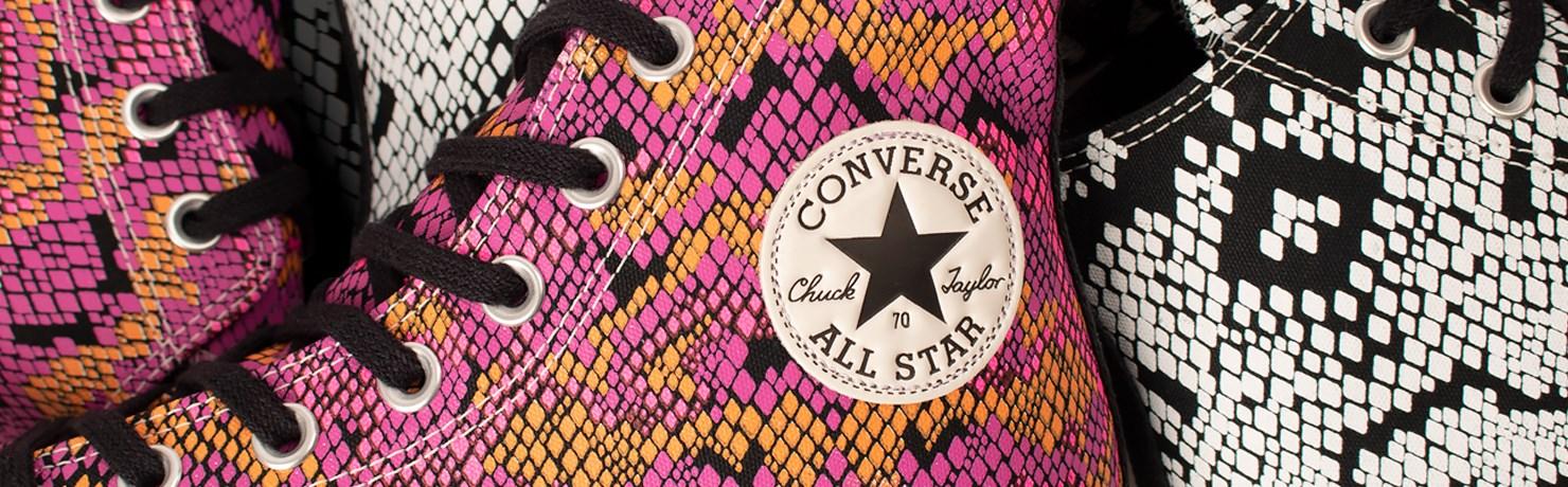 Converse Snake Print Tênis All Star Estampa de Cobra