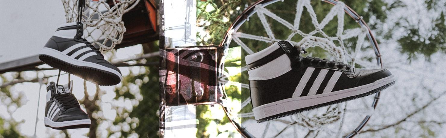 Tênis adidas Top Ten Cano Alto Masculino e Feminino