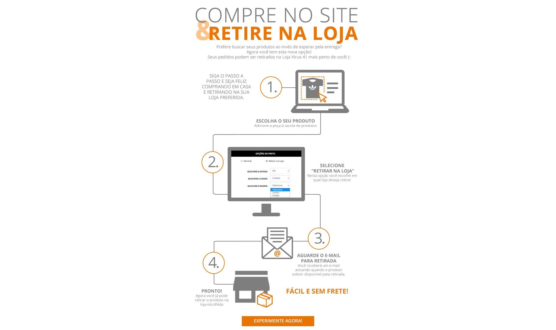 Compre no Site, Retire na Loja