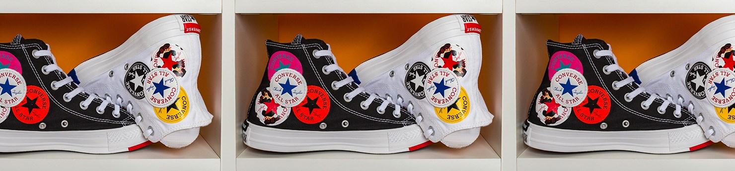 Tênis Converse All Star Logo Play coleção Twisted