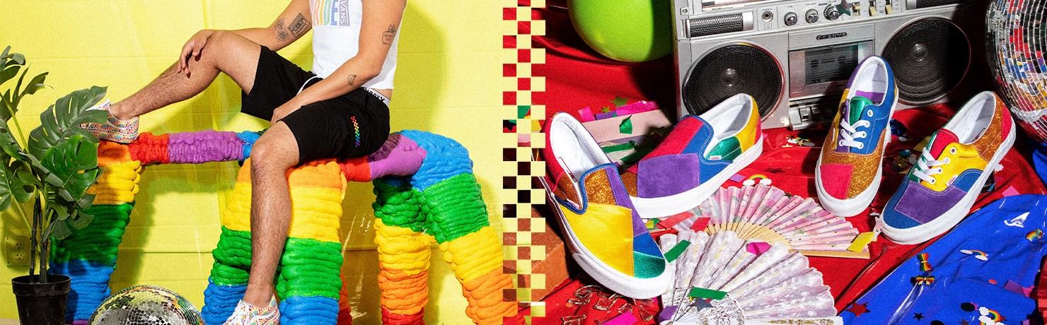 Coleção Vans Pride Tênis Roupas e Acessórios LGBTQ+