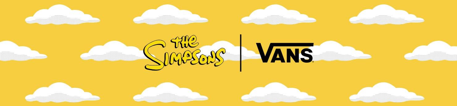 Vans The Simpsons Coleção - Tênis, Mochilas, Camisetas, Bonés, Meias