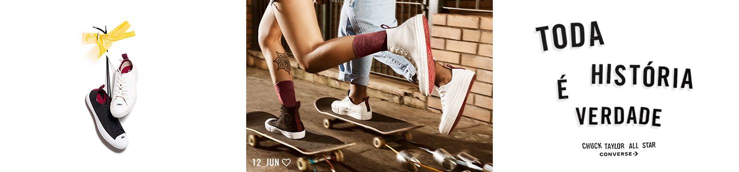 Tênis Converse Coleção Dia dos Namorados