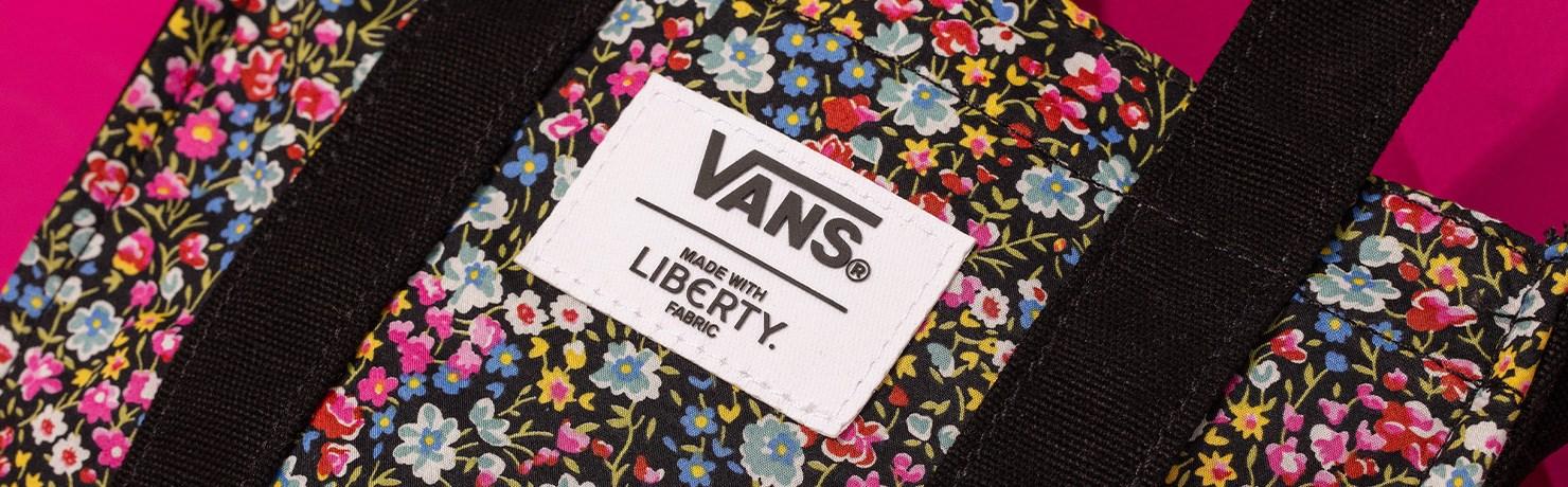 Tênis Vans Liberty Fabrics Coleção Roupas Acessórios