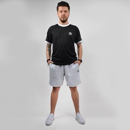 Bermuda Adidas Masculina Vocal Short Cinza Claro ED7234