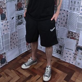 Bermuda Converse Moletom Nova Knit Short Black 10018808-A01