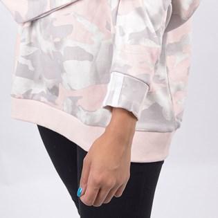 Blusa Adidas Feminina Sweater Chalk White ED7425