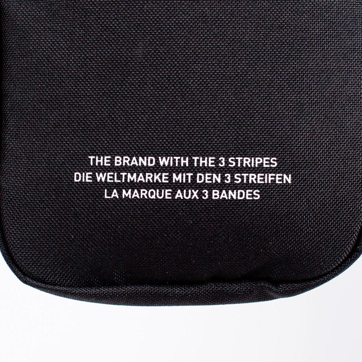 Bolsa Adidas Fest Bag Trefoil Black EI7411