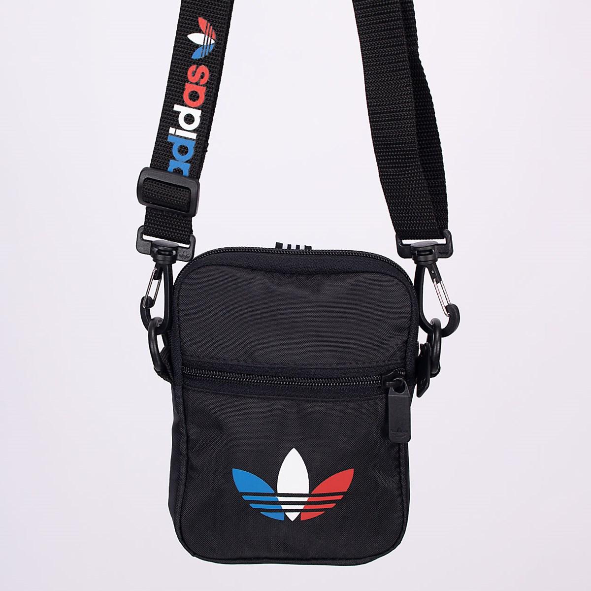 Bolsa adidas Festival Adicolor Tricolor Black GN5463