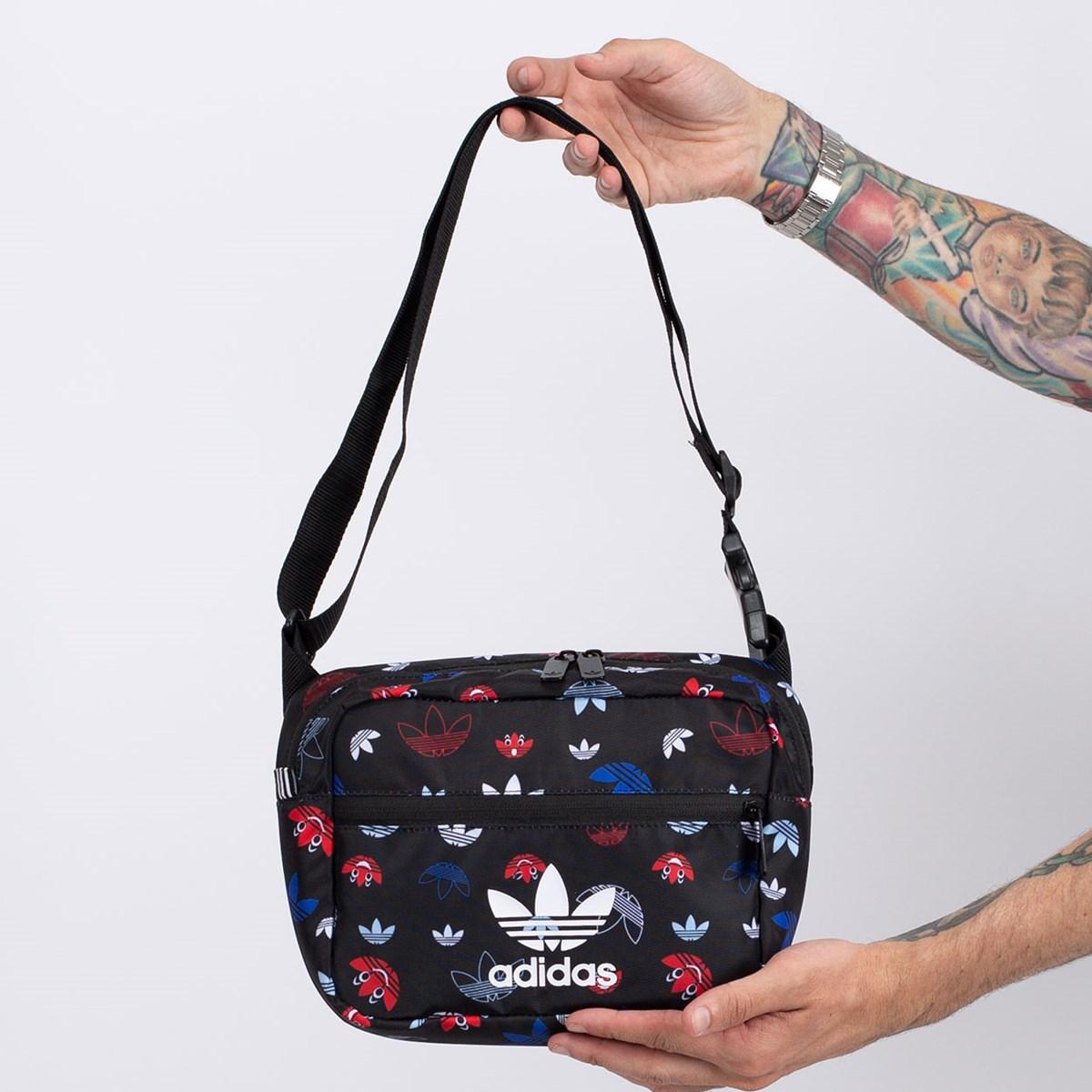 Bolsa adidas Sling Bag Black Multicolor GD3133