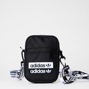 Bolsa Adidas Vocal Fest Bag Preto Branco EJ0975
