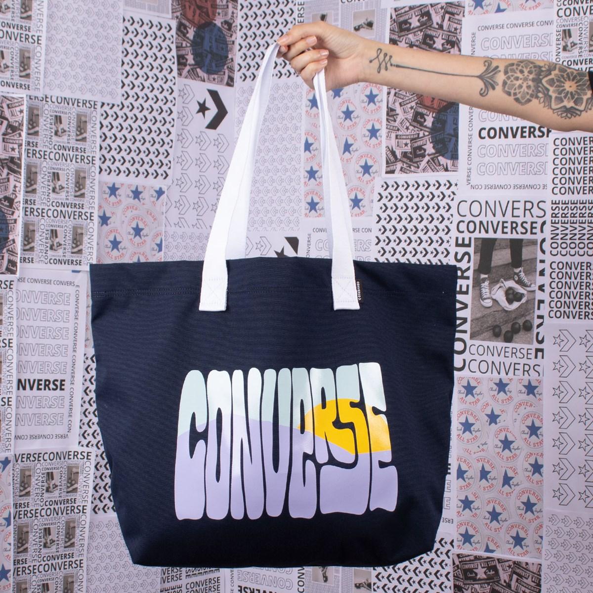 Bolsa Converse Canvas Tote Obsidian 10018969-A01