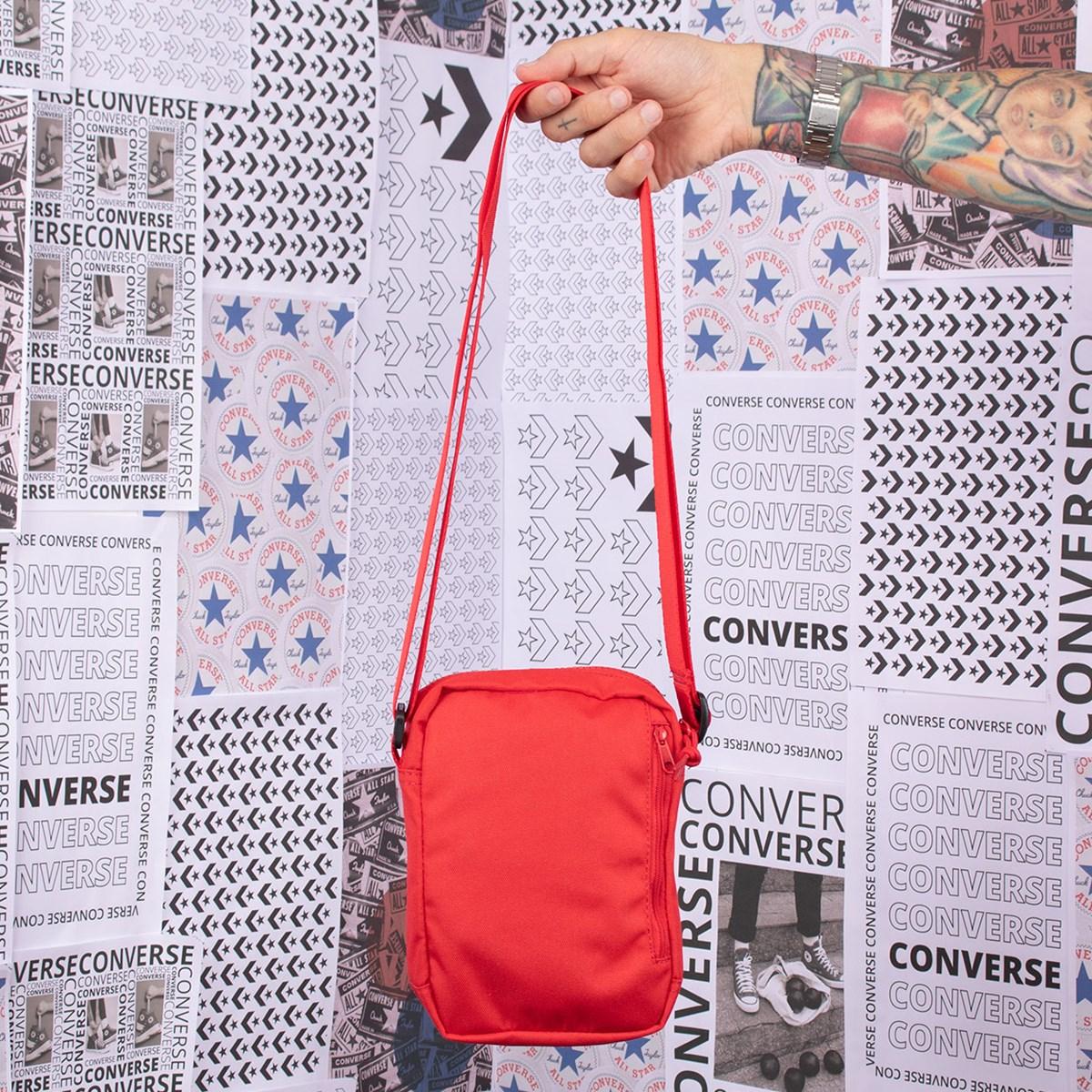 Bolsa Converse Chuck Cross Body 2 University Red 10018468-A03