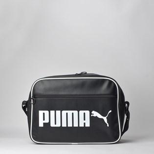 Bolsa Puma Campus Reporter Retro Black 07664201