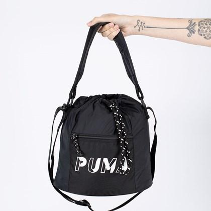 Bolsa Puma Core Base Bucket Bag Black 077935-01