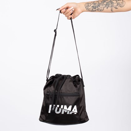 Bolsa Puma Core Base Bucket Black 077375-01
