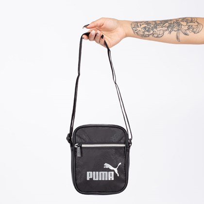 Bolsa Puma Core Up Portable Black 076974-01