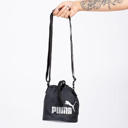 Bolsa Puma Core Up Small Bucket Black 077388-01