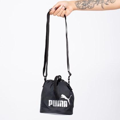 Bolsa Puma Core Up Small Bucket Black 077388-01