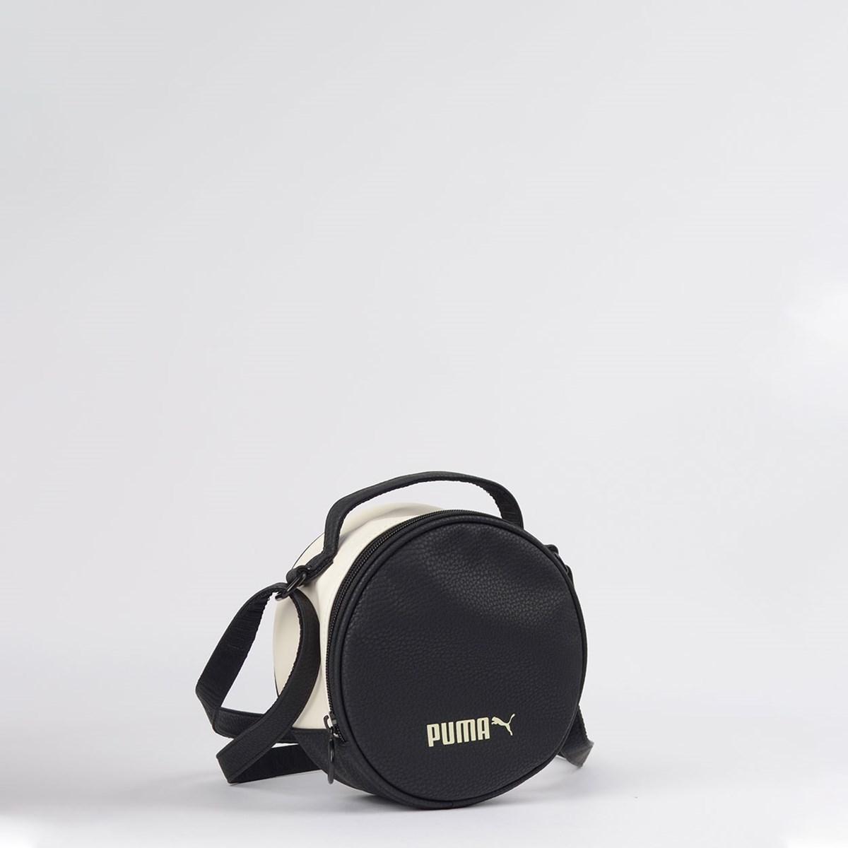 Bolsa Puma Prime Classic Round Case Black Whisper 07558601