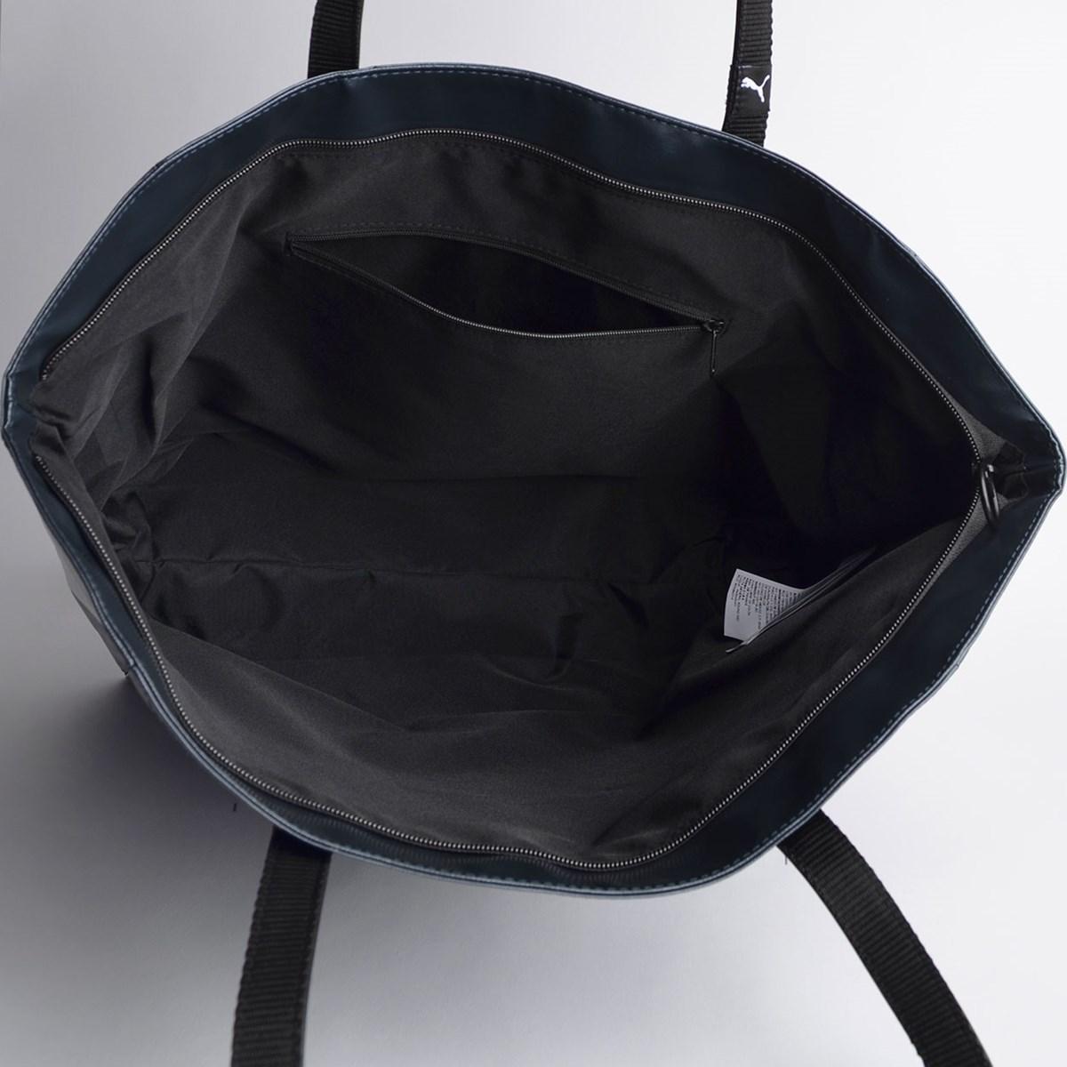 Bolsa Puma Prime Time Large Shopper Black Gunmetal 07659601