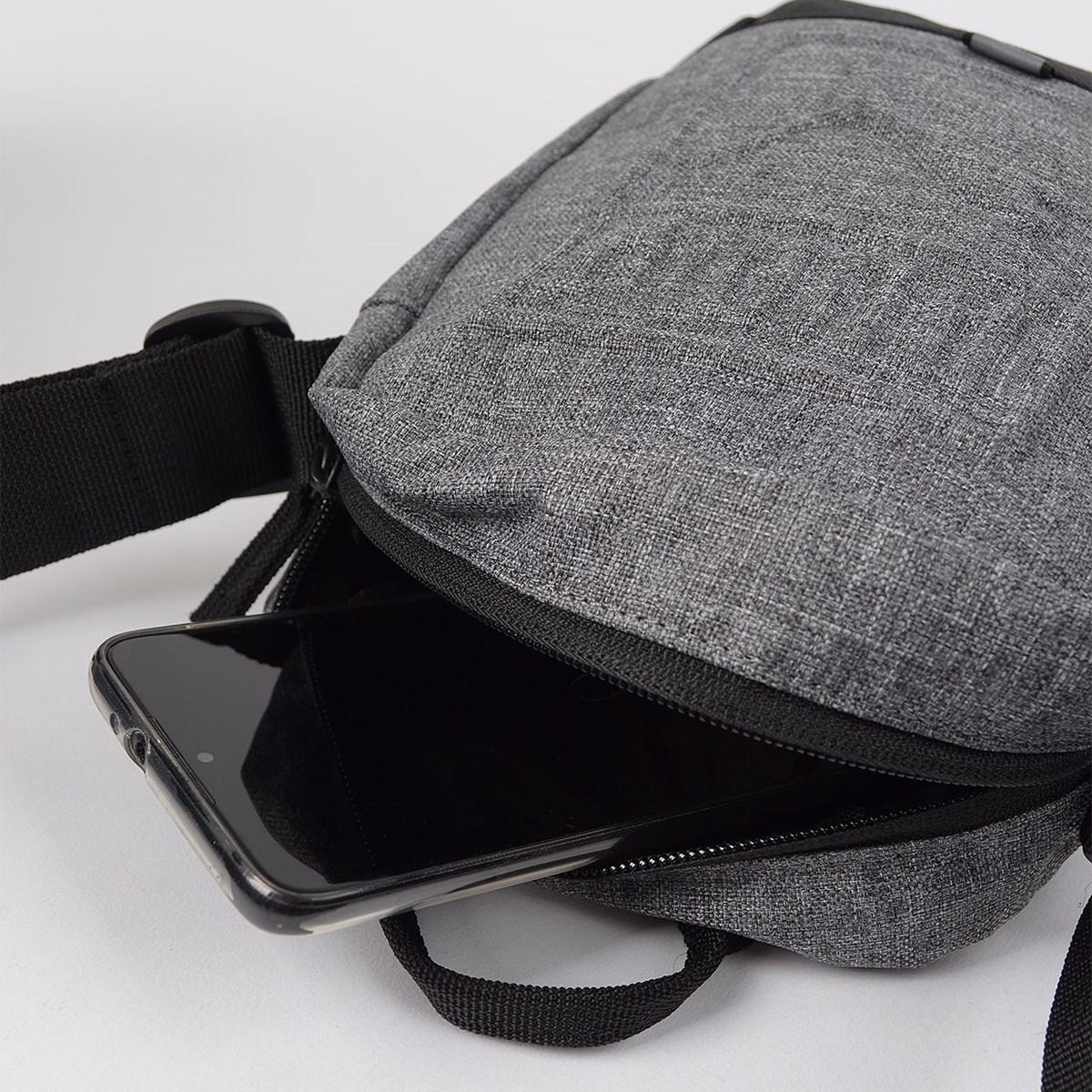 Bolsa Puma S Portable Cinza Escuro Preto 07558209