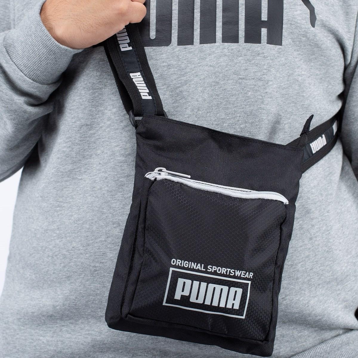 Bolsa Puma Sole Portable Black 07692601