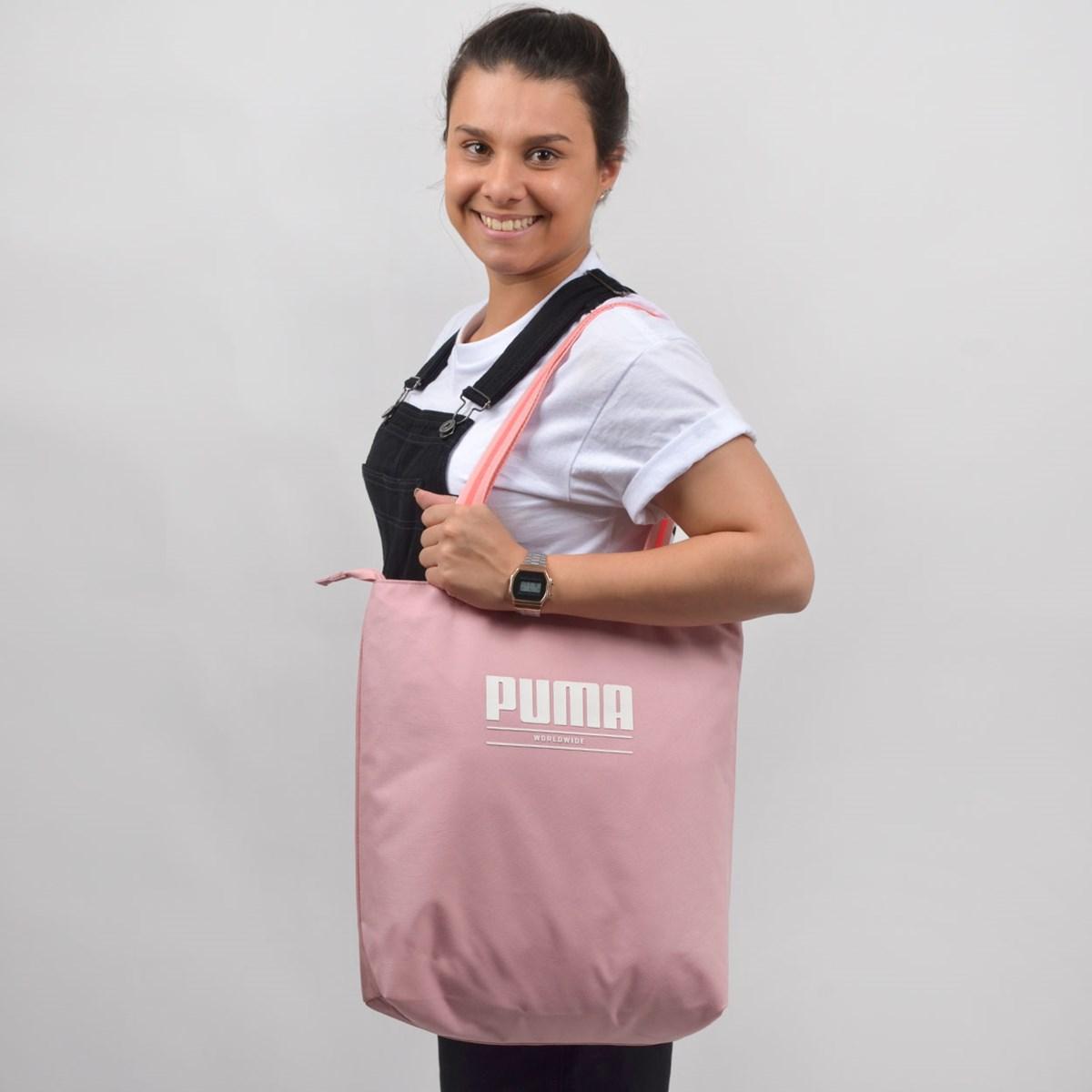 Bolsa Puma WMN Core Base Shopper Rose 07657002