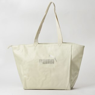 Bolsa Puma WMN Core Up Large Shopper Overcast Gunmetal 07657802
