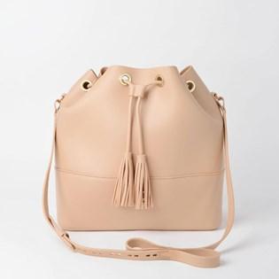 Bolsa Sweet Chic Capri Básica Bege 4875