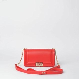 Bolsa Sweet Chic Pequim Básica Corrente Vermelho 5348