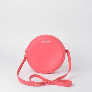Bolsa Sweet Chic Redonda Quebek Coral 5231