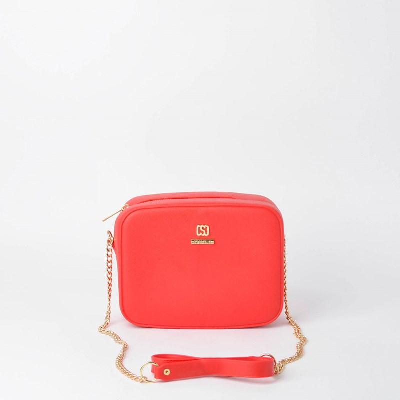 Bolsa Sweet Chic Xangai Básica Corrente Vermelho 5192