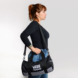 Bolsa Vans Here We Go Duffel Bag Black VN0A3NG5BLK
