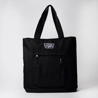 Bolsa Vans In The Know Tote Black VN0A47RJBLK