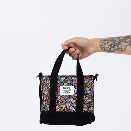 Bolsa Vans Liberty Fabrics Bag Black VN0A5FSJZE9
