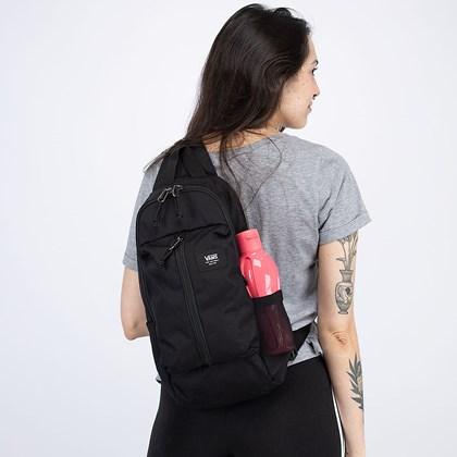 Bolsa Vans Warp Sling Bag Black VN0A3I6B6ZC