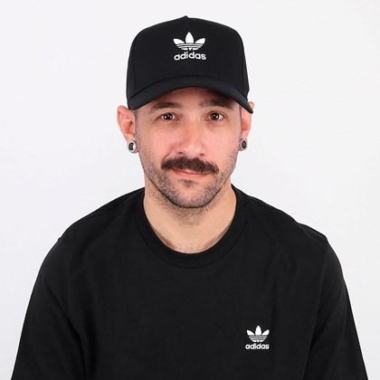 Boné Adidas Ac Clsd Trk Crv Black ED8704