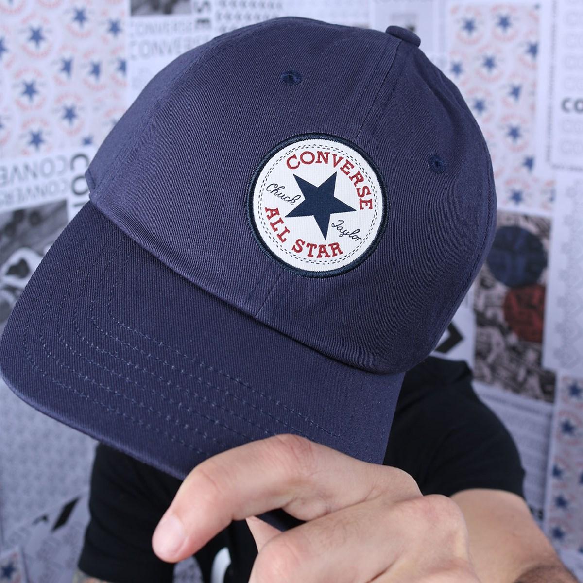 Boné Converse Tipoff Chuck Taylor Baseball Navy 10008474-A05