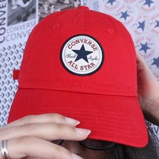 Boné Converse Tipoff Chuck Taylor Baseball University Red 10008474-A18