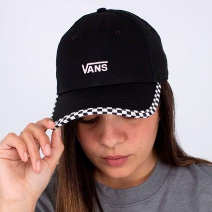 Boné Vans Bow Back Hat Black VN0A4UM9BLK